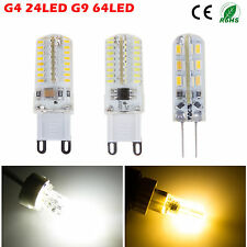 G4 G9 3W 5W LED Crystal light Cool/Warm White SMD Spotlight Bulb Ampoules New