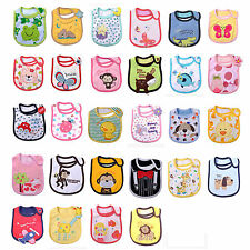 Cute Design Cute Pattern Baby Bibs Kids Bibs Saliva Towel 3 Layer Waterproof