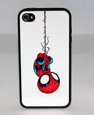 BABY AMAZING SPIDERMAN PHONE CASE FOR iPHONE 6 6 PLUS 5C 5 5S 4 4S RUBBER COVER