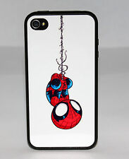 BABY AMAZING SPIDERMAN 3 PHONE CASE FOR iPHONE 5C 5 5S 4 4S RUBBER COVER SKIN
