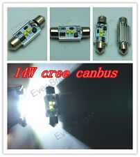 Wholesale 300X Canbus 14W CREE No Error Free C5W 7W*2 36mm 39mm 41mm Festoon Led
