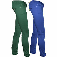 New Women Slim Skinny Fit Coloured Leggings Jegging Ladies Strech Jeans Trousers