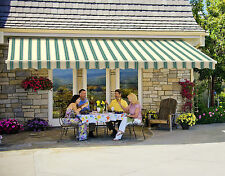 20' SunSetter Motorized Awning with Acrylic Fabric by SunSetter Awnings