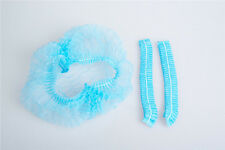 100 Pcs Disposable Hair cover Non-woven Bouffant Caps Medical stretch dust cap