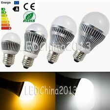 E27 E26 3W 5W 7W 9W 12W 15W LED Spot Light Globe Bulb Warm Cool White Screw Lamp