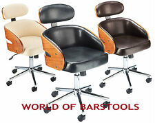 """SAVOY"" DESIGNER OFFICE CHAIR IN 3 COLOURS"