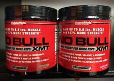 CHOOSE FLAVOR MuscleMeds NO BULL XMT Pre-Workout Nitric Oxide N.O. 20 serv 230g