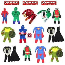 NEW Siz 2~12 MUSCLE COSTUME KIDS BOY PARTY DRESS OUTFITS SUPERHERO BIRTHDAY TOYS