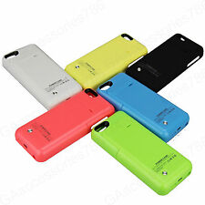 iPhone 5/5S/5C 2200mAh Power Case Portable External Battery Power Pack Charger