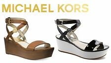 MICHAEL Michael Kors Jalita Charm Leather Sandal