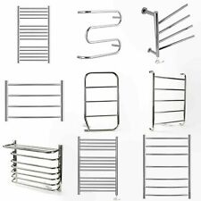 Designer Electric Towel Rails Stainless Steel Towel Warmer 400 500 600mm wide