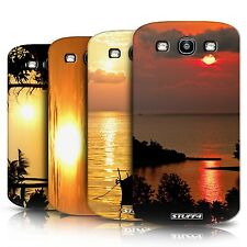 STUFF4 Phone Case/Back Cover for Samsung Galaxy S3/SIII /Sunset Scenery