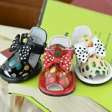 NEW Summer Pet Dogs Puppy Shoes PU Leather Cozy Sandals Boots for Small Dogs