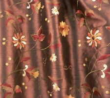 """3""""x6"""" Samples - Embroidered Faux Silk Florals - 12 Listings"""
