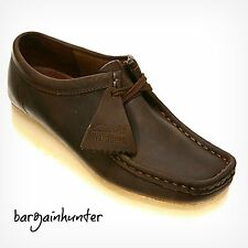NEW Clarks WALLABEE WOMENS CORE Beeswax Leather Shoe 38257