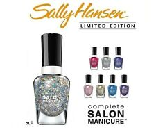Sally Hansen Complete Salon Glitter Overcoat Nail Polish - Choose Your Shades!