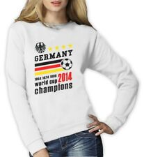 Germany World Cup Champions Women Sweatshirt Soccer National Team 2014 Winners