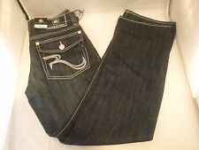 New Rock Republic Blue Jeans Boot Cut Rebellion 29 30 32 33 34 36 38 Bootcut