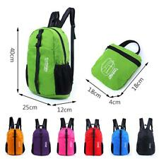 Nylon Backpack Outdoor Travel Hiking Shoulder Waterproof Bag Folding sac à dos