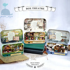 DIY Handcraft Miniature Project Dolls House The Old Times Trilogy 2 Box Theatre