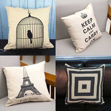 1Pcs Back Cushion Cover Sofa Pillow Case Waist Pillow Sofa Bed Decor New Fashion