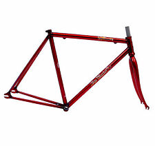 Blue Murder - Steamhammer Fixie Frame & Fork RED (Fixed Bicycle/Bike) - SALE