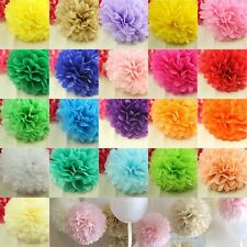 Fashion Wedding Tissue Paper Pom Poms Party Xmas Home Outdoor Flower Balls Decor