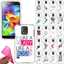For Samsung Galaxy S5 i9600 G900 Design Soft TPU Silicone Rubber Case Cover Skin