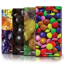 STUFF4 Phone Case/Back Cover for Sony Xperia M2 /Sweets & Candy