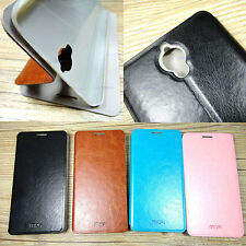 PU Leather Stand Flip Case Cover for Alcatel One Touch Idol X Plus Idol X+ 6043D