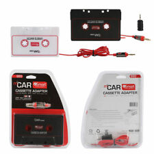 Car Audio Tape Cassette for iPOD MP3 iPhone AUX 3.5mm 2.5mm Connector to Car