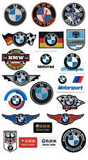 BMW iron sew on patches Germany auto cars motorcycles R80 K100 325i 530d 645i