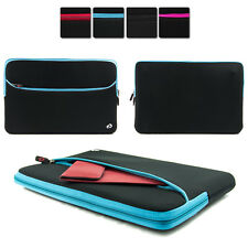 "Kroo 15"" Water Resistant Neoprene Sleeve Glove Case fits Satellite Laptop PC"