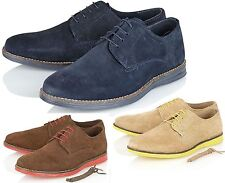 Red Tape Mens Real Suede Leather Classic Desert Boot Casual Lace Up Shoes Size