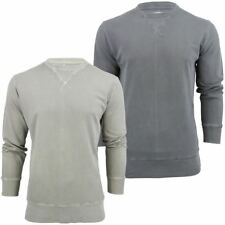 Mens T-Shirt By French Connection/ FCUK 'OverDyed Pique' Long Sleeved Sleeved