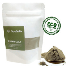Illite Organic French Green Clay Powder Face Mask - 1Kg 2.2LB BEST VALUE TRY IT