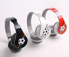 Football & Hi-Fi Stereo Bluetooth 4.0 Headphones for Cell Phone Tablet PC Laptop