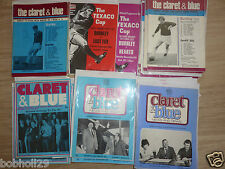 Burnley Home Programmes 1970/01 to 1975/76 -  Select from list
