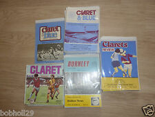Burnley Home Programmes 1976/77 to 1979/80 -  Select from list