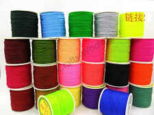 Lots 1Roll 100Yards 1MM Chinese Knot Macrame Bracelets Braided Nylon Cord Thread