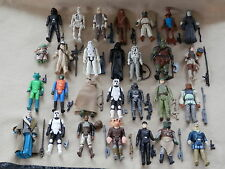 VINTAGE STAR WARS FIGURES ALL WITH  ORIGINAL WEAPONS LARGE CHOICE
