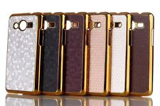 Luxury Bling Chromed Matte Back Cover Hard Case For Samsung Galaxy Core 2 G355H