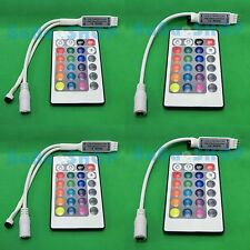 IR Remote 24 Key Controller Wireless for RGB 5050 3528 LED Flexible Strips Light