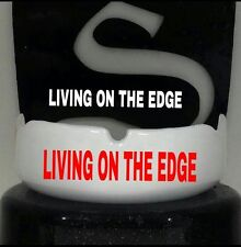 Shurfit Mouth Guard Boil and Living On the Edge custom Design sports mouthpiece
