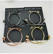 New Simple MARC BY M JACOBS Circle Earrings 4 colors available