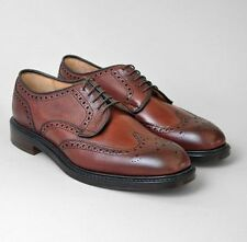 Cheaney Bexhill Burgundy Mens Brogue Shoes