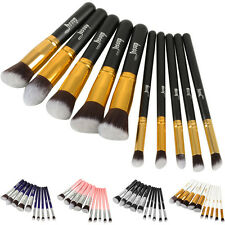 10Pcs Professional Cosmetic Makeup Brush Brushes Set Powder Eyeshadow X5RG