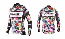 SOBIKE Cycling Fleece Thermal Long Jersey Winter Jacket-Magic Cube