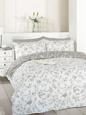 Grey Bird Toile Bedding Set Single Double or King Available