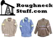 Used FRC (Flame Resistant Clothing) Shirts with Reflective Tape